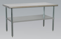 Sealey Stainless Steel Workbench 1.5mtr from Toolden
