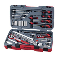 "Teng Tools TM095 1/4"" and 1/2"" Drive Socket and Tool Set from Toolden."