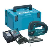 Makita DJV180 Cordless Jigsaw 1x 3.0Ah Battery, Charger & Makpac Case | Duotool