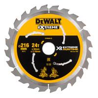 DeWALT DT99568 Circular Saw Blades 216mm 30mm 24T