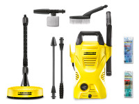 Karcher K2 Compact Car & Home Pressure Washer 110 Bar 240 Volt