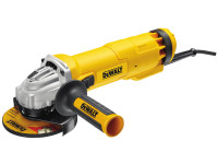 DeWalt DWE4206K-GB 115mm Mini Grinder with Kitbox 1010 Watt 240 Volt from Duotool