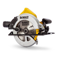 DeWalt DWE576K 190mm Precision Circular Saw & Track Base 1600 Watt 240 Volt from Duotool