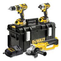 DeWalt DCK382M2-GB 18V 4.0Ah Li-lon XR Cordless Triple Pack