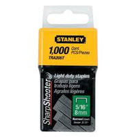 Stanley Tools TRA2 Light-Duty Staple 8mm TRA205T Pack 1000