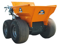 Belle BMD300 Minidumper c/w Wide Tyres from Duotool