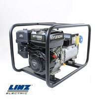 Hyundai HY10000LEK-2. The 8kW/10kVA* Recoil & Electric Start Site Petrol Generator