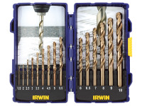 IRWIN HSCO Pro Drill Set 15 Piece 1-10mm| Duotool