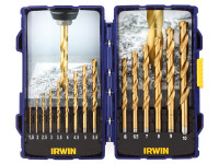 IRWIN HSS TiN Pro Drill Set 15 Piece| Duotool