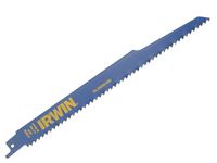 IRWIN Sabre Saw BladeNail Embedded Wood 956R 225mm Pack of 2