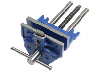 IRWIN Record 52PD Plain Screw Woodworking Vice 175mm (7in) & Front Dog