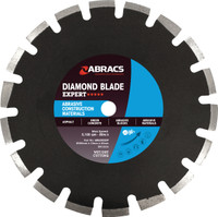 350mm x 10mm x 25.4mm Abrasive Construction Materials Diamond Blade EXPERT