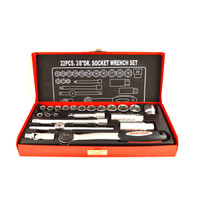 "N-Durance 22 Piece 6 Point 3/8"" Drive Socket Set from Toolden."