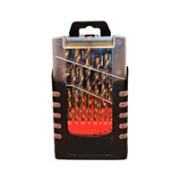 N-Durance 25pc Cobalt HSS Drill Set from Duotool