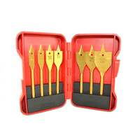 7Pc Flat Bit Set In Case | Duotool