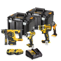 Dewalt DCK499M2T 4 Piece Cordless Kit with 2 x 4.0Ah Batteries