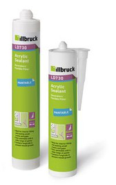 ILLBRUCK LD730 ACRYLIC SEALANT WHITE 310ML