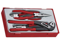 Teng TT440 4 Piece Mega Bite Plier Set