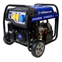 Hyundai HY9000LEK-2 7kW / 9.4kVA Open Frame Electric Start Petrol Generator