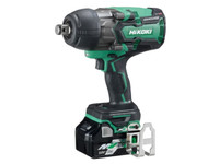 "HiKoki WR36DA/JRZ 3/4"" Brushless Impact Wrench 18/36V with 2 x 5.0/2.5Ah Li-ion Batteries"