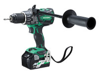 HiKoki DV36DAX/JRZ 18/36V MultiVolt Brushless Combi Drill with 2 x 5.0/2.5Ah Li-ion
