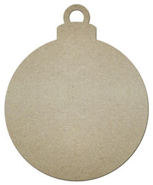 "MDF Shape - Ornament - 12""x10"""