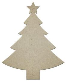 "MDF Shape - Christmas Tree - 12""x10"""