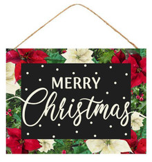 "Sign - Merry Christmas - 16"" x 12"""
