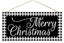 "Sign - Merry Christmas - 13"" x 6"""
