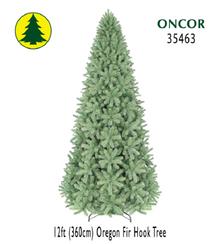 12ft Oregon Fir Hook Tree - 2389 tips