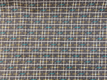 100% Cotton - Boundless - Grey/Multi Modern Check
