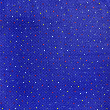 100% Cotton - Boundless - Navy/Colourful Triangles