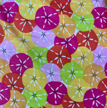 100% Cotton - Sand Dollar Bright Multi