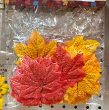 Harvest - Fall Leaves Asstd - 50ct