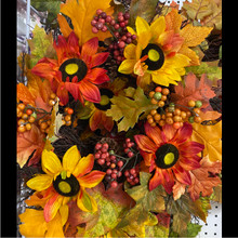 Harvest - Sunflower Wreath