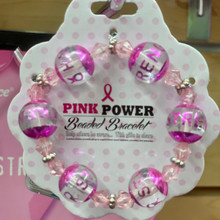 Breast Cancer Awareness - Pink Power Bracelet