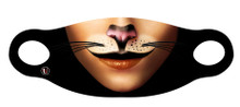 Halloween Mask - Cat Face - Female - Adult