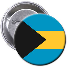 "Pin - Bahamas Flag 4"" Button"