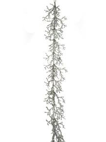 Garland - Iced Twig 5' - Silver