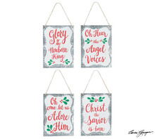 Ornament - Holly Message Tin Border