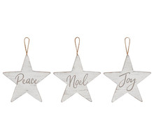 Ornament - Rustic Star with Message