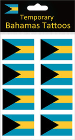Bahamas Flag Tattoos