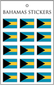 Sticker - Bahamas Flag