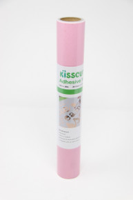 "Adhesive Vinyl 12"" x 48"" - Gloss Soft Pink"