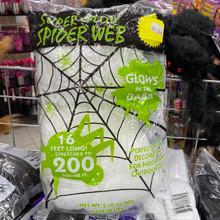 Spider Web - Glow in the Dark