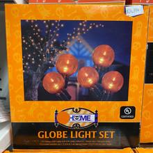 Lights - Globe Light Set - Orange