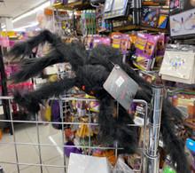 "Furry Spider - 21"" - Black"