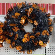 Wreath - Halloween Foil - Large