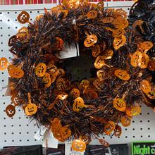 Wreath - Halloween Foil - Small