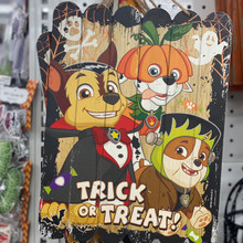 Sign - Halloween Paw Patrol